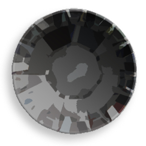 Swarovski Crystal 2078 Flat Backs Jet Black Hot Fix Stones from Rainbows of Light wholesale