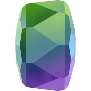 Swarovski_5045_Crystal_Scarabaeus_Green_Rondelle_Beads