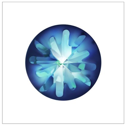 New Swarovski Crystal 1695 Sea Urchin Round Stone Spring Summer 2017 Innovations