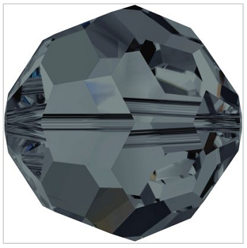 New Swarovski Crystal Color Graphite 5000 Round Beads Spring Summer 2017 Innovations image