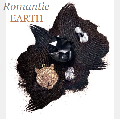 New Swarovski Crystal Innovations Romantic Earth Color and Jewelry Trends