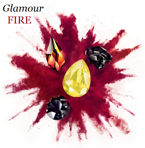 New Swarovski Crystal Spring Summer 2017 Innovations Glamour Fire Color and Trends Inspiration image