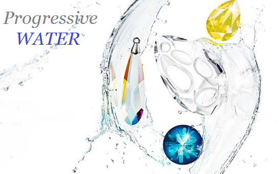 New Swarovski Crystals Spring Summer 2017 Innovations Progressive Water color Trends
