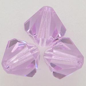 Swarovski Crystal 5328 Xilion Bicone Beads in Violet