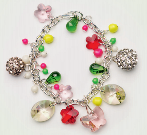 Swarovski Crystal Spring Beacelet Design and Instructions