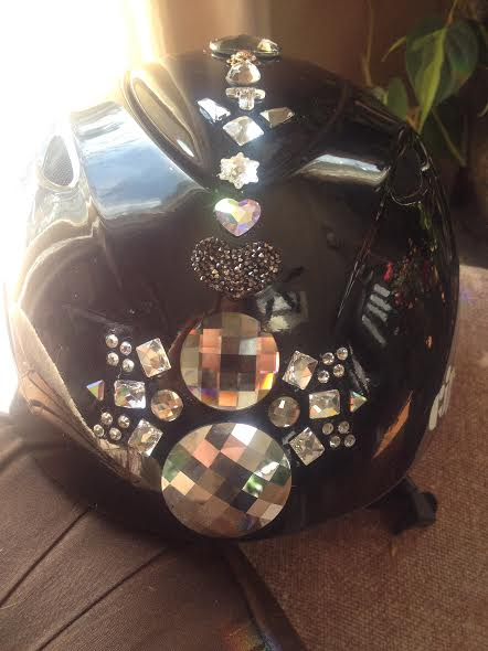 Blinged Helmet 6