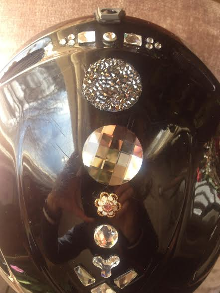 Blinged Helmet 7