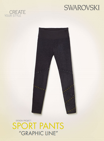 DIY Apply Swarovski Crystals to pants