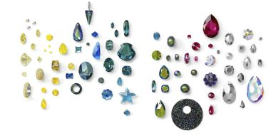 New Swarovski Crystal Spring Summer Innovations and Trends Progressive Water Color Inspirations Crystal Sale