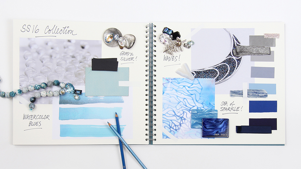 Swarovski Blue Color inspirations