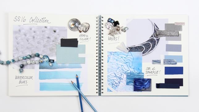 Swarovski Blue Color inspirations