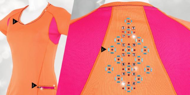 Swarovski Crystal Athleisure wear Rock this popular trend