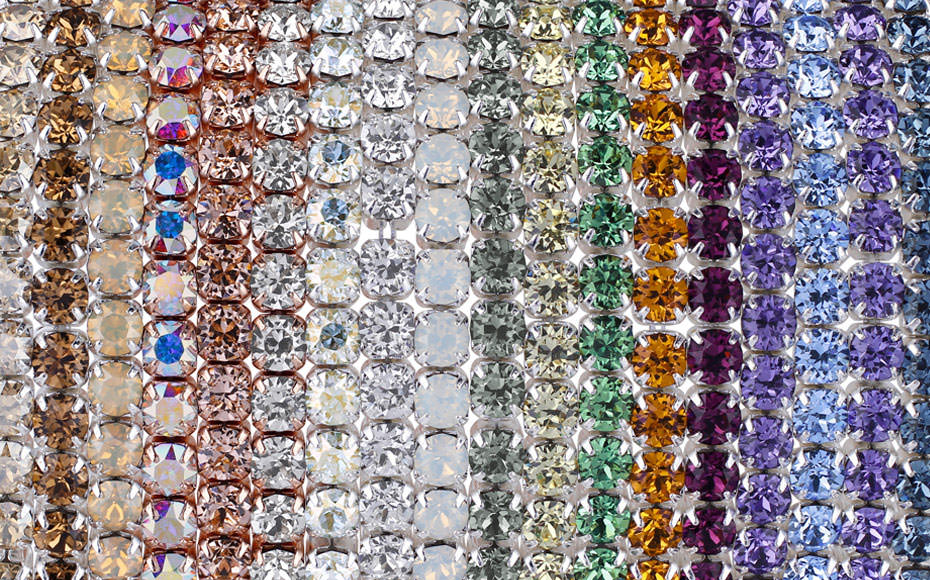 Swarovski Crystal Stretch Bracelets