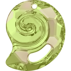 Swarovski_6731_Crystal_Luminous_Green_Sea_Snail_Pendants Spring Summer Innovations and Trends