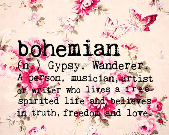 bohemian fashion style and definition