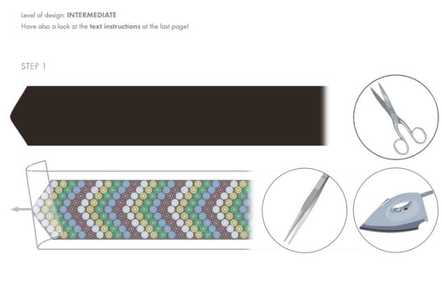 Free DIY Swarovski Crystal Hat Design wholesale Swarovski Crystals from Rainbows of Light.com step 1