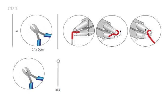 DIY Free Swarovski Crystal Necklace Design and Instructions Step 2