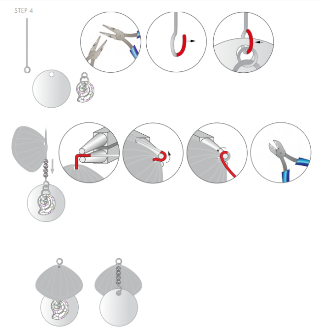 DIY Free Swarovski Crystal Necklace Design and Instructions Step 4