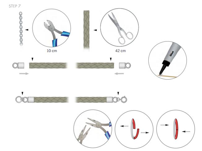 DIY Free Swarovski Crystal Necklace Design and Instructions Step 7
