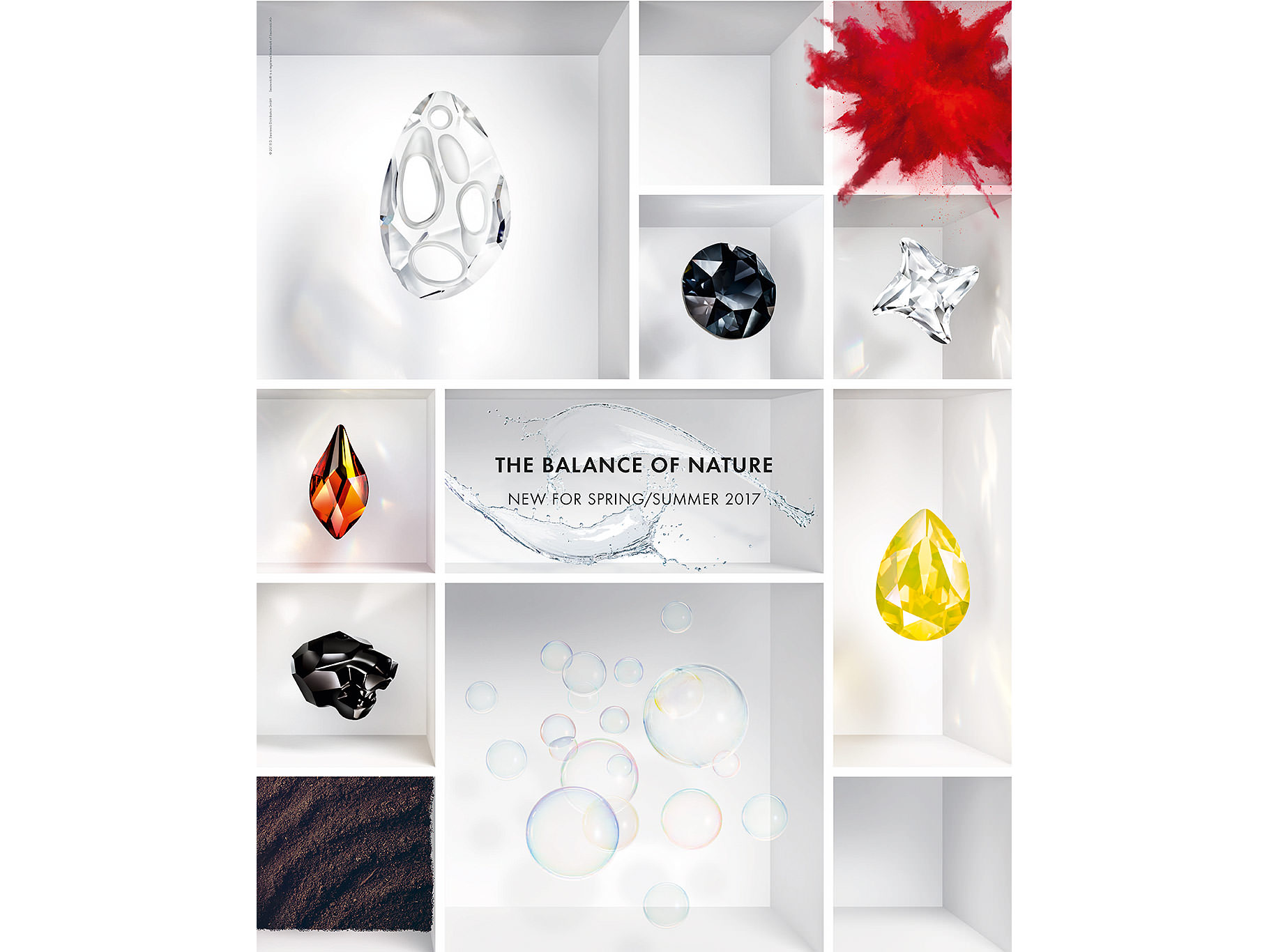 Swarovski Crystal Spring Summer Innovations The Balance of Nature