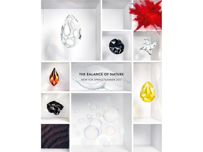 Swarovski Crystal Spring Summer Innovations The Balance of Nature