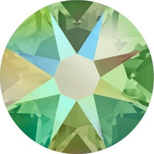 swarovski-crystal-flatback-peridot-shimmer-effect