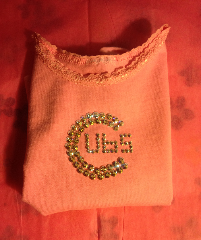 diy-blinged-out-cubs-shirt