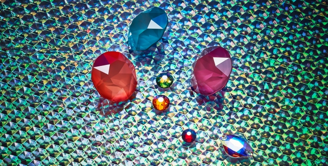 New Swarovski Crystal Spring Summer Innovations Shiny Lacquer Effect