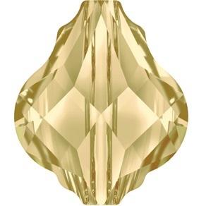 Swarovski_5058_Baroque_Beads_Crystal_Golden_Shadow