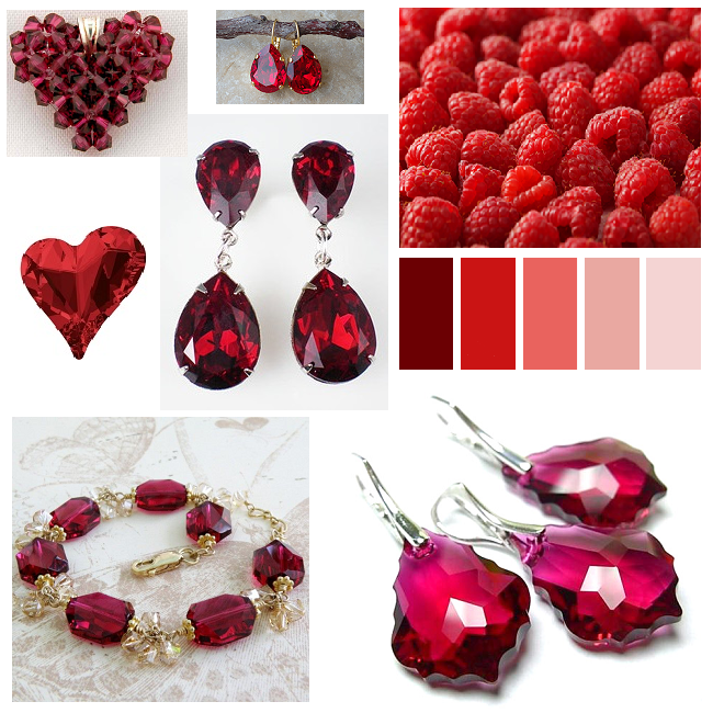 Ruby_Red_Color_Combination_Inspiration