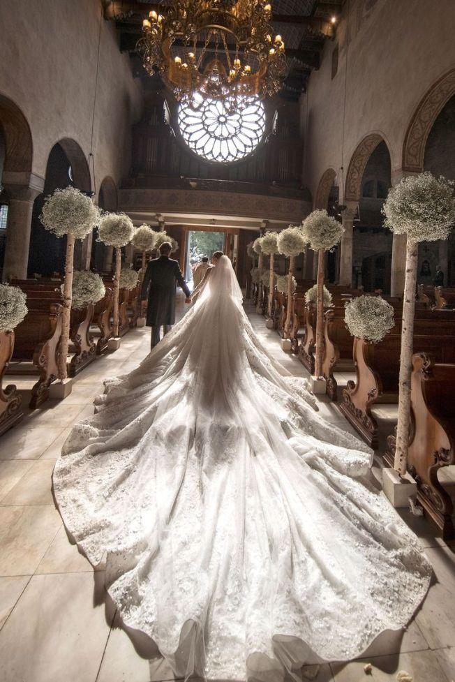 Victoria Swarovski Crystal wedding Dress