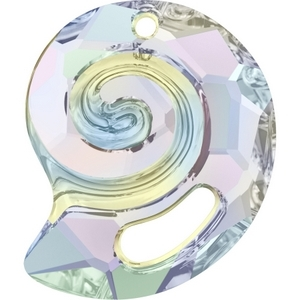Swarovski_6731_Crystal_AB_Sea_Snail_Pendants
