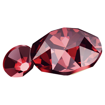 Swarovski_Crystal_Flatback_Scarlet_Color