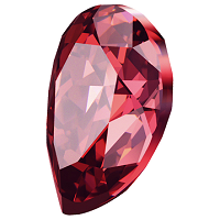Swarovski_Crystal_Pearshape_Stones_Scarlet_new_Color_wholesale