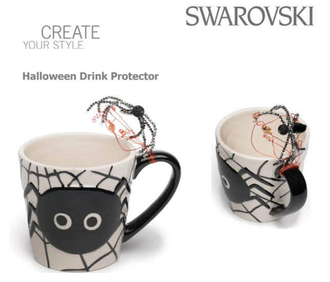 Free_Swarovski_Crystal_Halloween_Spider_Drink_Protector_Design_and_Instructions
