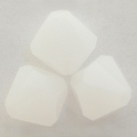 Swarovski Crystal Bicone Beads White Alabaster