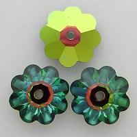 Swarovski_Crystal_3700_Marguerite_beads_Vitrail_Medium