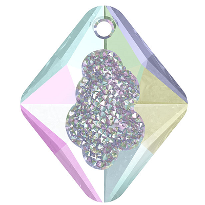 Swarovski 6926 Growing Crystal Rhombus Pendants Crystal AB Wholesale