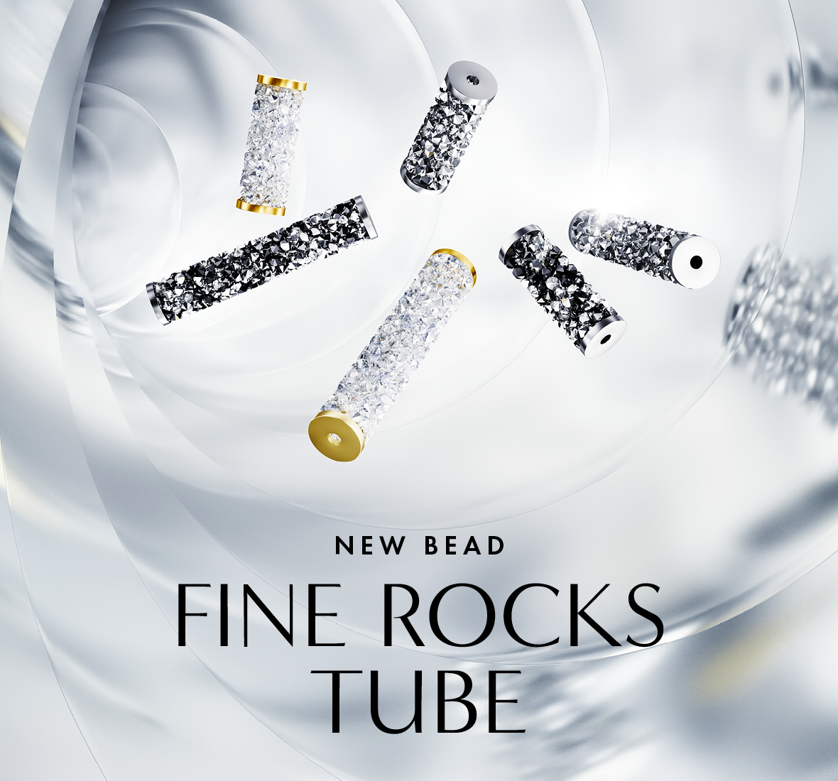New Swarovski Crystal Fine Rocks Tube Beads Innovations