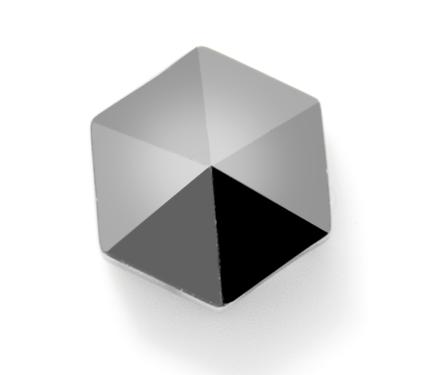 Swarovski Crystal 5060 Hexagon Spike Beads