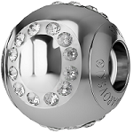 Swarovski Crystal Letter BeCharmed Beads wholesale
