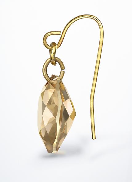 Swarovski Crystal new Round Pendant earring design inspiration