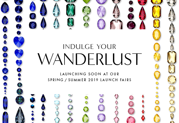 WANDERLUST New Swarovski Crystal Innovations Spring Summer 2019