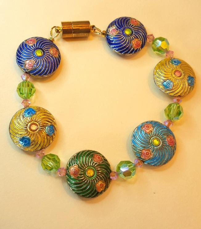 Swarovski Crystal bracelet design