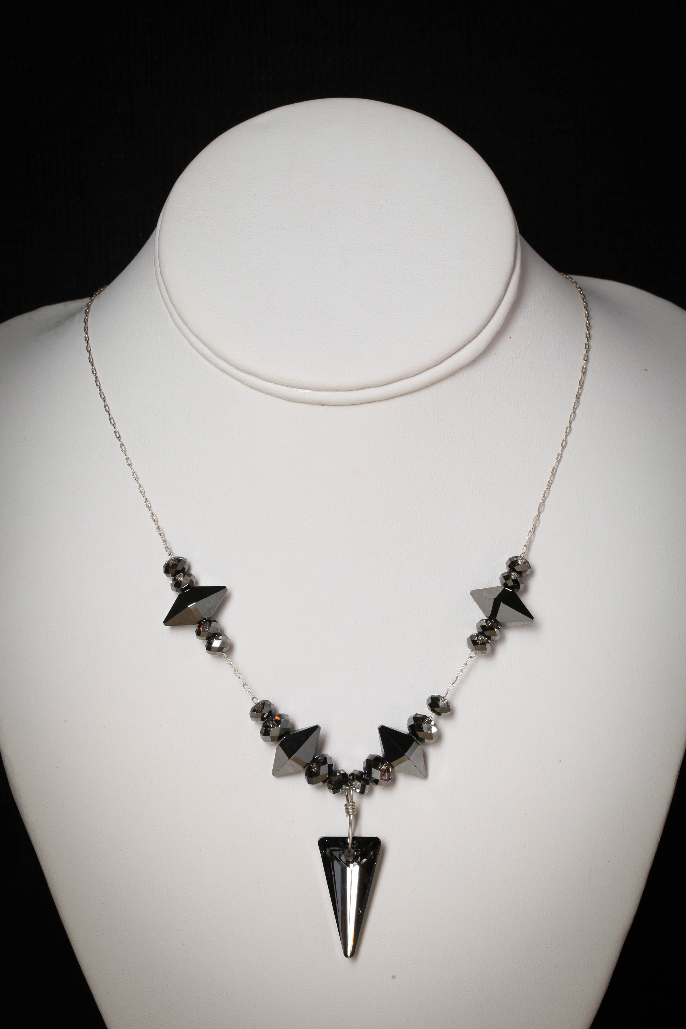 Swarovski Crystal Spike Necklace