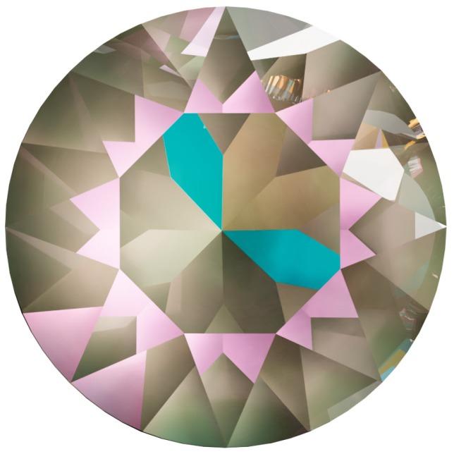 Swarovski_Crystal_ 1088_Xirius_Round_Stones_ Crystal_Amethyst_Green_DeLite