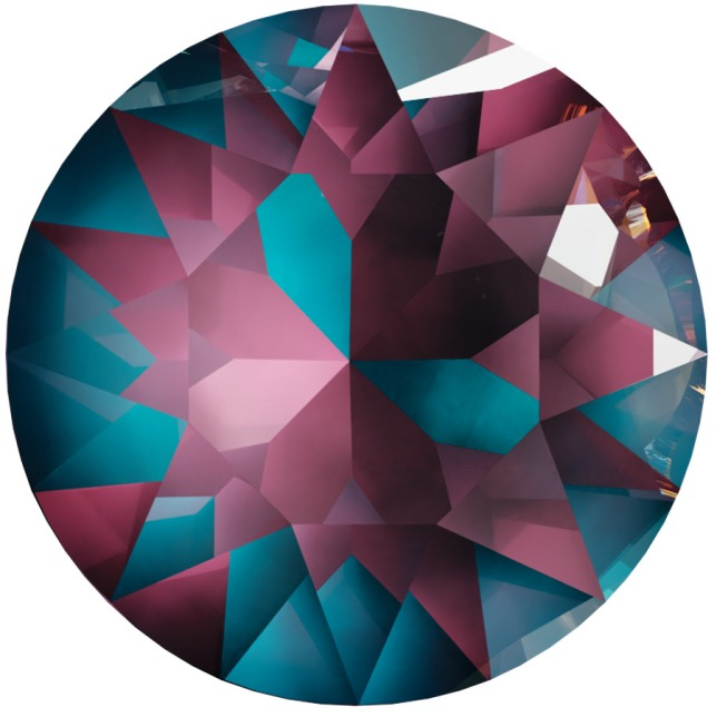 Swarovski_Crystal_ 1088_Xirius_Round_Stones_ Crystal_Burgundy_DeLight