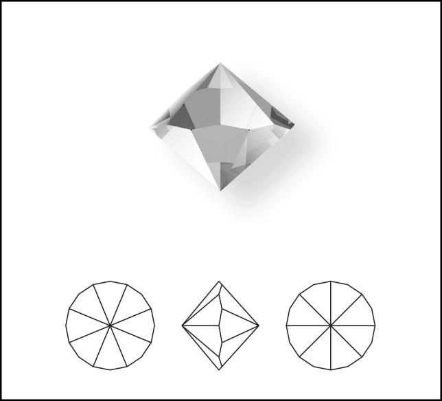 Swarovski_Crystal_ 1185_Pointed_Chaton_Round_Stones
