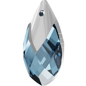 Swarovski_Crystal_ 6565_Metallic_Cap_Pear-shaped_Pendant_ Aquamarine_with_Crystal_Light_Chrome_Cap_jewelry_trends