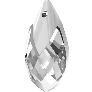 Swarovski_Crystal_ 6565_Metallic_Cap_Pear-shaped_Pendant_ Crystal_with_Crystal_Light_Chrome_Cap_jewelry_trends